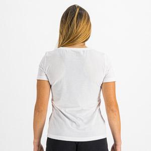 Sportful XPLORE dámske tričko krátky rukáv žiarivo biele