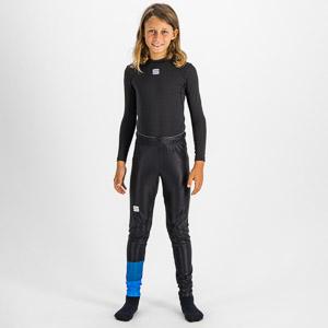 Sportful SQUADRA detské elasťáky červené/čierne