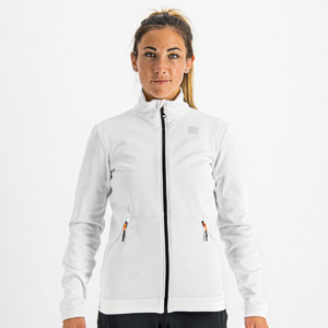 Sportful ENGADIN dámska bunda žiarivo biela