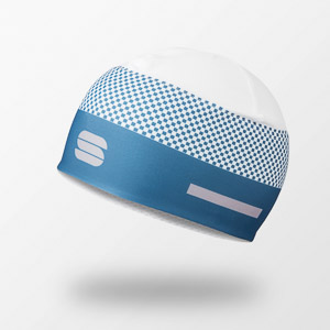 Sportful SQUADRA čiapka modrá/biela