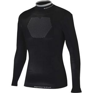 Sportful Second skin Thermic 250 tričko dlhý rukáv čierne