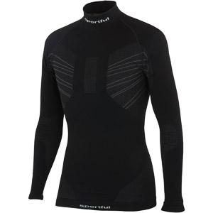 Sportful Second Skin Deluxe Tričko dlhý rukáv čierne