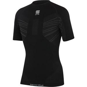 Sportful Second Skin Deluxe tričko krátky rukáv čierne