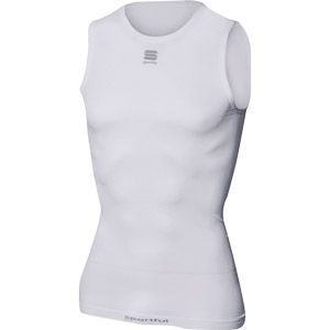 Sportful Active 100 tričko bez rukávov biele