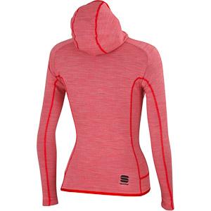 Sportful Terra Mikina so zipsom dámska červená