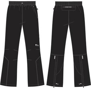 OneWay OLOS Mikrovláknové nohavice, čierne
