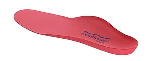 Formthotics SKI vložky do lyžiarok červené