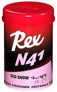 Rex stúpací vosk N41 ružový starý sneh -2...-15 C