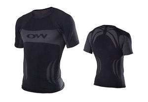 OneWay spodné tričko, čierne/sivé