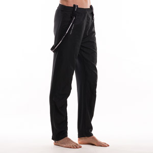 OneWay TATONIC pánska bunda+nohavice čierna-modrá