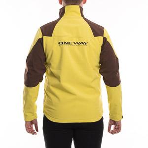 OneWay Promo Soft Shell Bunda žltá