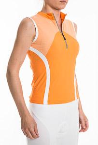 Sportful Hybrid Dres bez rukávov dámsky oranžový