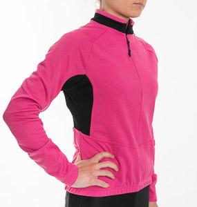 Sportful Inserted Cyklo dres dámsky ružový/čierny