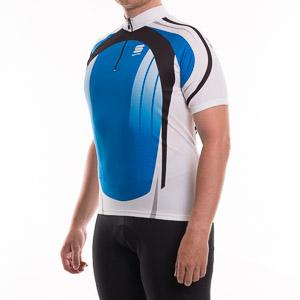 Sportful Express Cyklo Dres modrý/čierny/biely