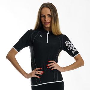 Sportful Cervia Cyklistický Dres dámsky čierny