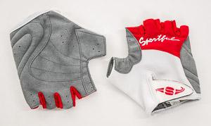 Sportful rukavice dámske biele/červené