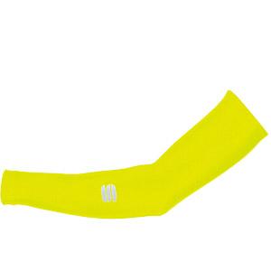 Sportful Lycra návleky na ruky fluo žlté