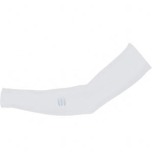 Sportful Lycra návleky na ruky biele