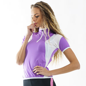 Sportful Anakonda 10 Dres dámsky fialový/biely