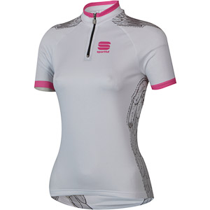 Sportful Lady Bea cyklo dres dámsky biely