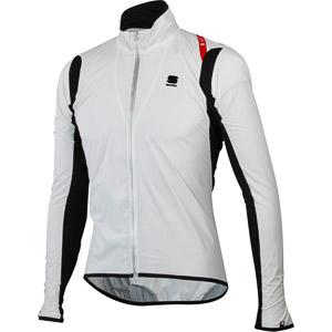 Sportful Hot Pack No-Rain Stretch bunda biela/čierna
