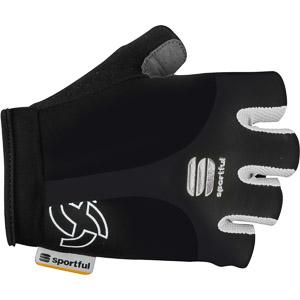Sportful Gel Cyklo Rukavice čierne