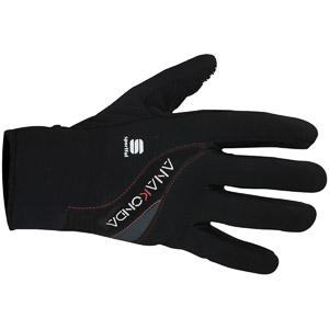 Sportful Anakonda Rukavice čierne zimné