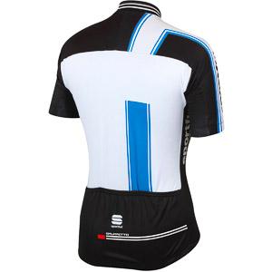 Sportful Gruppetto Team cyklodres čierny/azúrový