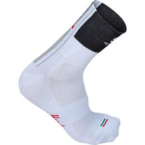 Sportful Gruppetto Ponožky biele/čierne