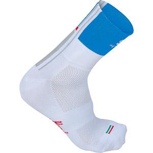 Sportful Gruppetto Pro 12 cyklo ponožky biele/modré