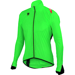Sportful Hot Pack 5 cyklo bunda fluo zelená