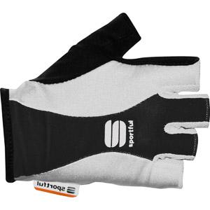 Sportful Pro Dámske cyklorukavice biele/čierne