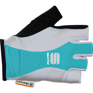 Sportful Pro cyklo rukavice dámske tyrkysové/biele