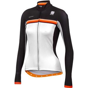 Sportful Bodyfit Pro Thermal dámsky cyklo dres biely/čierny