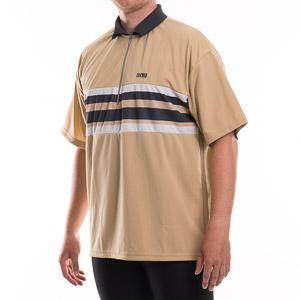 Hot n' Wild cyklistické tričko hnedá-čierna-biela