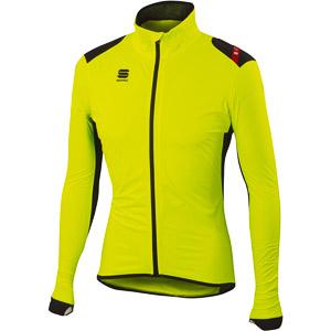 Sportful Hot Pack NoRain bunda fluo žltá - farebná nerovnosť
