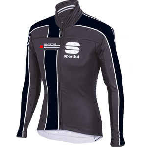 Sportful Gruppetto Partial WS cyklo bunda sivá/čierna