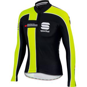 Sportful Gruppetto Thermal dres čierny/krikľavožltý