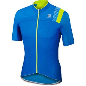 Sportful BodyFit Pro Race dres elektro modrý fluo