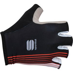 Sportful Bodyfit Pro cyklo rukavice čierne/červené