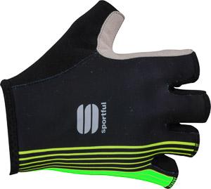 Sportful Bodyfit Pro rukavice čierne/zelené
