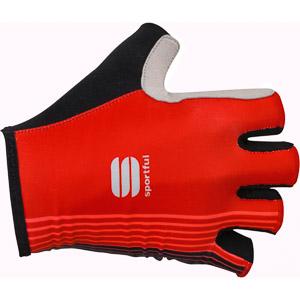 Sportful Bodyfit Pro krátke cyklo rukavice červené