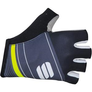 Sportful Gruppetto Pro rukavice čierne/sivé