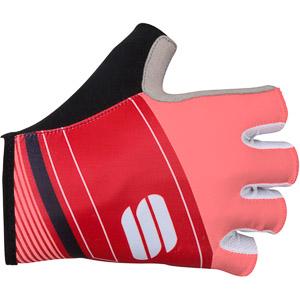 Sportful Gruppetto Pro cyklo rukavice fluo koralové/červené