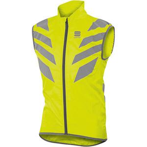 Sportful Reflex vesta fluo žltá