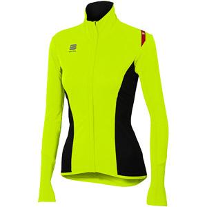 Sportful Fiandre Light NoRain dámska bunda fluo žltá