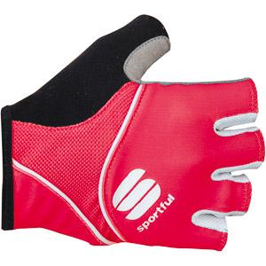 Sportful Pro dámske cyklo rukavice ružové