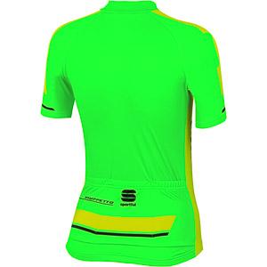 Sportful Gruppetto Kid cyklodres detský fluo zelený/fluo žltý