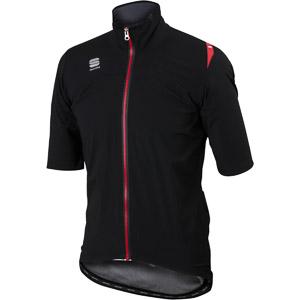 Sportful Fiandre Windstopper bunda krátky rukáv čierna