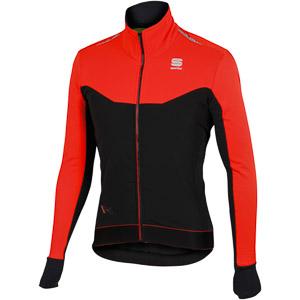 Sportful Sportful R&D Light bunda čierna/ohnivočervená